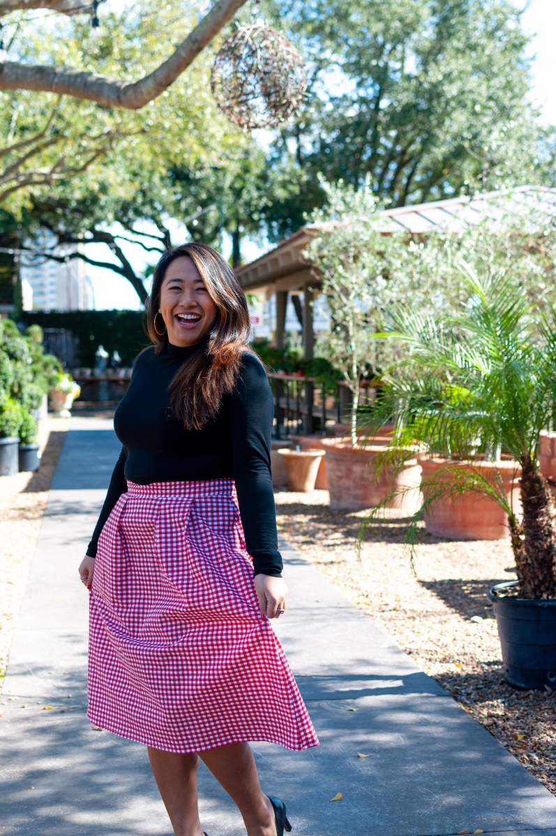Selkie London Skirt Pattern Review || DIY Valentine's Day Series ❤️