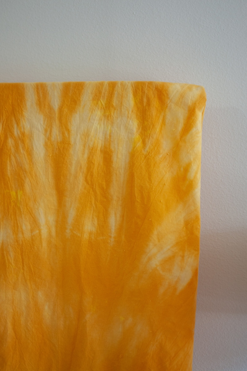 How To: Easy DIY Turmeric Tie-Dye!